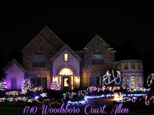 1710 Woodsboro Court Allen TX