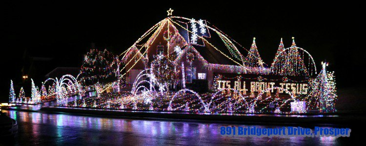 Prosper Christmas light show, Prosper TX - 2018 Christmas And Holiday Light Displays In Collin County - Allen