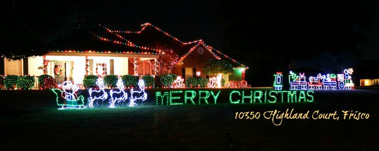 Frisco Children's Christmas, Frisco TX - 2018 Christmas And Holiday Light Displays In Collin County - Allen