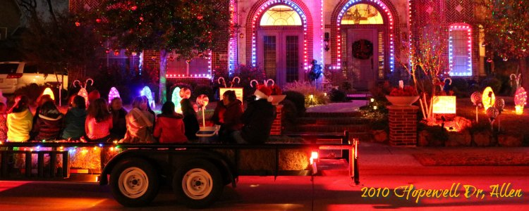 2018 Christmas and Holiday Light Displays in Collin County - Allen ...