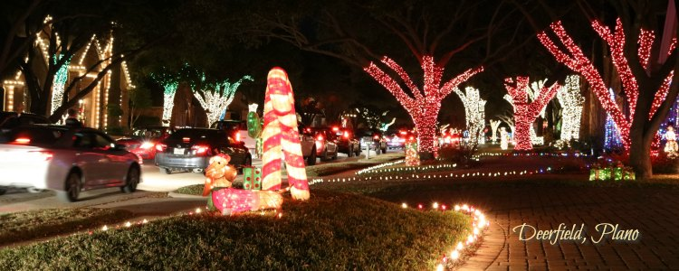 deerfield christmas lights plano tx