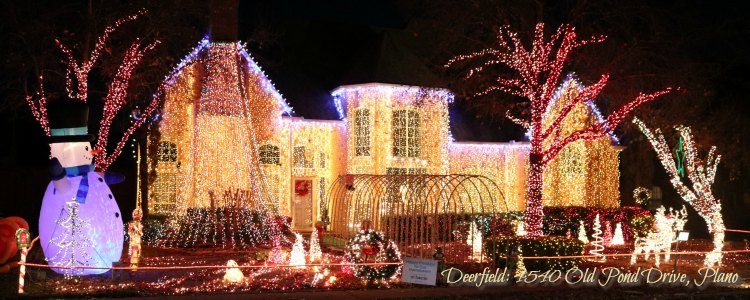 at home and zephries house deerfield christmas lights plano tx