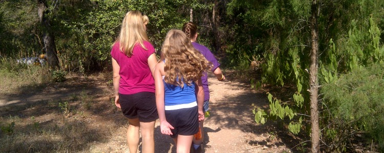 hiking trails in Allen, Frisco, McKinney, Plano TX