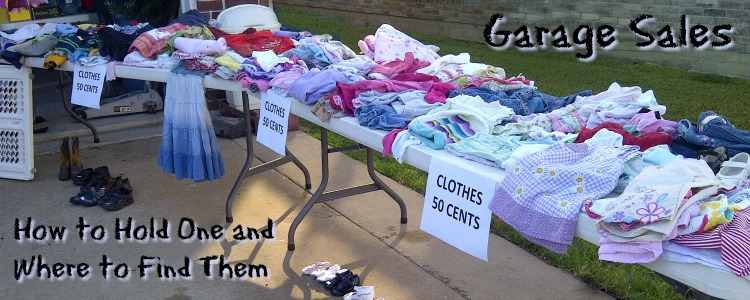 garage sale in Collin County, TX