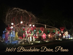 Brookshire Drive Plano Christmas Lights
