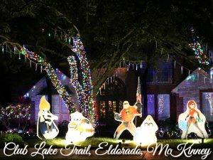 2016 Eldorado McKinney TX Christmas Lights