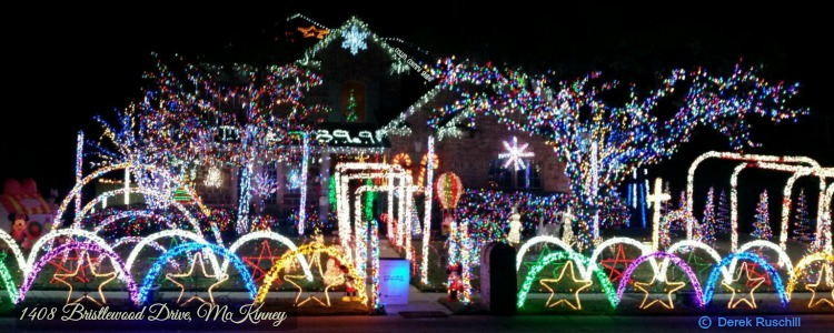 1408 Bristlewood Drive, McKinney TX - 2018 Christmas And Holiday Light Displays In Collin County - Allen