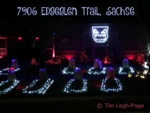 Halloween Light Show 7906 Edgeglen Trail, Sachse TX