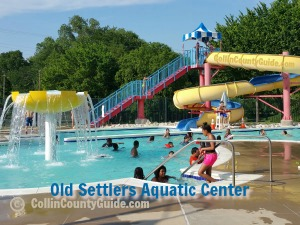 Old Settlers Aquatic Center, McKinney TX