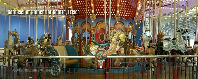 Carousel at Stonebriar Centre, Frisco