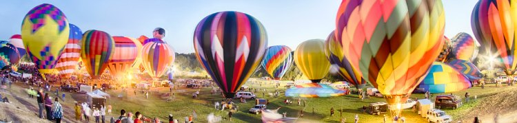 Hot Air Balloon Festivals And Glowfests In Collin County