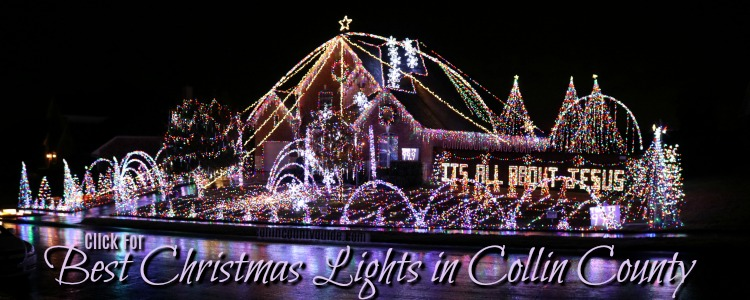Best Christmas Lights in Collin County