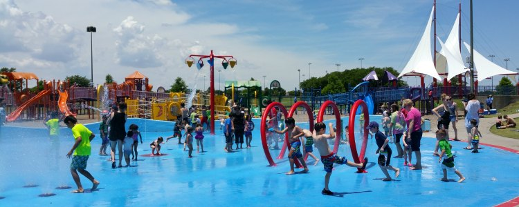 Spray Parks Water Parks Pools And Natatoriums In Allen
